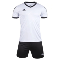 1601 Customize Team White Soccer Jersey Kit(Shirt+Short)