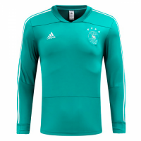 2018 Germany Green Training Sweat Top Shirt