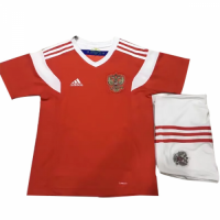 2018 Russia Home Red Children's Jersey Kit(Shirt+Short)
