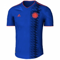 2018 World Cup Colombia Away Navy Soccer Jersey Shirt