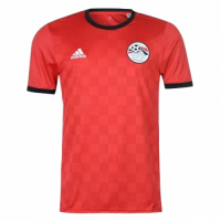 2018 Egypt Home Red Soccer Jersey Shirt