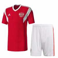 2018 Russia Home Jersey Kit(Shirt+Short)