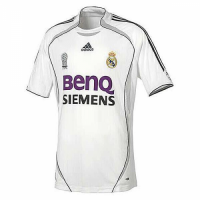 06-07 Real Madrid Home Retro Soccer Jersey Shirt