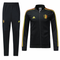 2018 Belgium Black Training Kit(Training Jacket+Trouser)