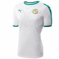 2018 World Cup Senegal Home White Soccer Jersey Shirt