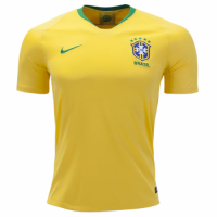 2018 Brazil Home Yellow soccer Jersey Shirt