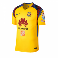 2018 Club America Third Away Yellow Soccer Jersey Shirt