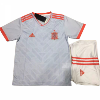 2018 World Cup Spain Away White Children's Jersey Kit