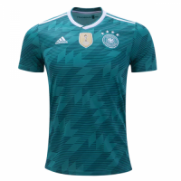 2018 World Cup Germany Away Green Jersey Shirt