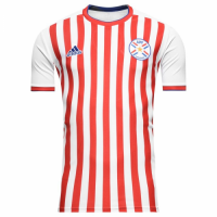 2018 Paraguay Home Soccer Jersey