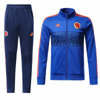 2018 World Cup Colombia Navy Training Kit(Jacket+Trouser)