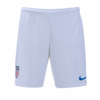 2018 Wold Cup USA Home White Soccer Jersey Short