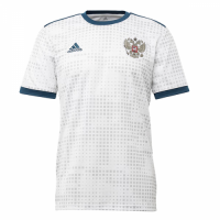 2018 World Cup Russia Away White Soccer Jersey Shirt(Player Version)