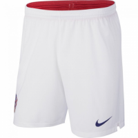 2018 World Cup Croatia Home White Jersey Short