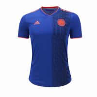 2018 World Cup Colombia Away Navy Soccer Jersey Shirt(Player Version)
