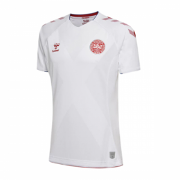 2018 World Cup Denmark Away White Jersey Shirt,