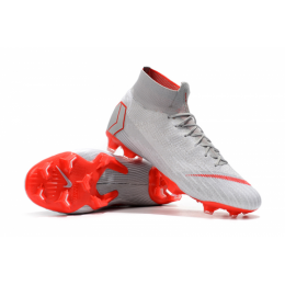 NK Mercurial Superfly VI Elite FG Soccer Cleats-Gray,Nike Soccer boot,Soccer Cleat,Soccer Shoes,Soccer Shoe,Soccer Boots,Shoe,Shoes,Soccer Cleats
