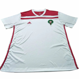 2018 World Cup Morocco Away White Soccer Jersey Shirt