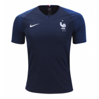 2018 World Cup France Home Blue Soccer Jersey Shirt