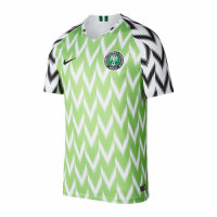 2018 World Cup Nigeria Home Soccer Jersey Shirt