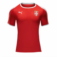 2018 World Cup Serbia Home Soccer Jersey Shirt
