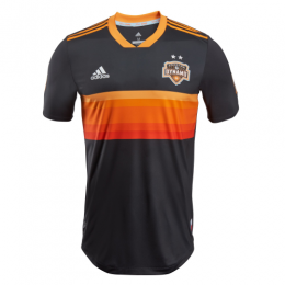 2018 Houston Dynamo Away Black&Orange Soccer Jersey Shirt(Player Version),