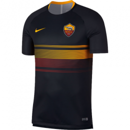 18-19 Roma Black Pre-Match Training Shirt