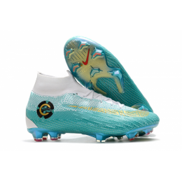 NK Mercurial Superfly VI CR7 360 Elite FG Soccer Cleats-Green&White,Nike Soccer boot,Soccer Cleat,Soccer Shoes,Soccer Shoe,Soccer Boots,Shoe,Shoes,Soccer Cleats,Neymar Shoe,Neymar,Neymar Boot