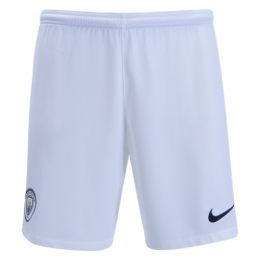 18-19 Manchester City Home White Jersey Short