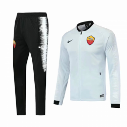 18-19 Roma White Training Kit(Jacket+Trouser)
