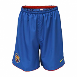 07-08 Barcelona Home Blue Retro Soccer Jersey Short