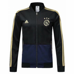 18-19 Ajax Black Training Jacket,