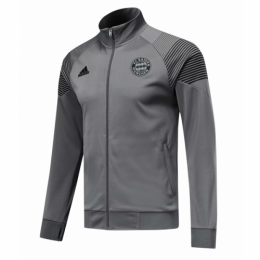 18-19 Bayern Munich Gray Training Jacket,