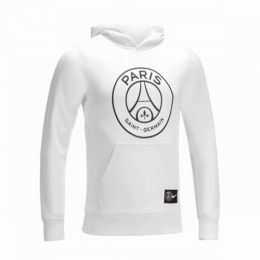 18-19 PSG JORDAN White Hoody Sweater,