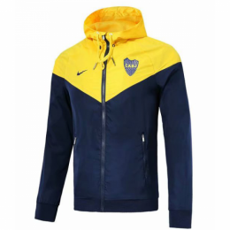 18-19 Boca Juniors Yellow Woven Windrunner,
