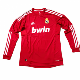 2012 Real Madrid Third Away Retro Long Sleeves Jersey Shirt