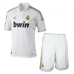 2012 Real Madrid Home Retro Jersey Kit(Shirt+Short)