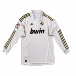 2012 Real Madrid Home Retro Long Sleeves Jersey Shirt
