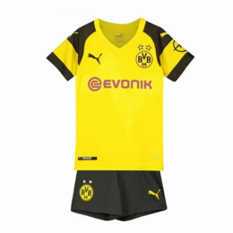 18-19 Borussia Dortmund Home Children's Jersey Kit(Shirt+Short)