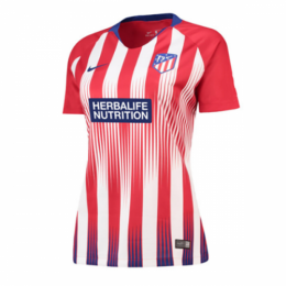 18-19 Atletico Madrid Home Women's Jersey Shirt,