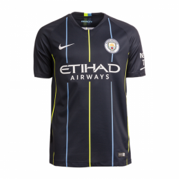 18-19 Manchester City Away Jersey Shirt(Player Version),