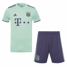 18-19 Bayern Munich Away Soccer Jersey Kit(Shirt+Short),