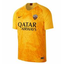18-19 Roma Third Away Gray Soccer Jersey Shirt(Player Version),