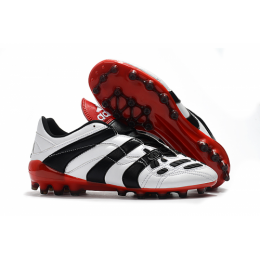 AD X Predator Accelerator Electricity AG Soccer Cleats-White