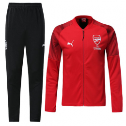 18-19 Arsenal Red Training Kit(Jacket+Trousers)