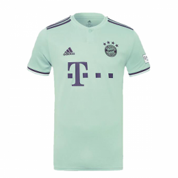 18-19 Bayern Munich Away Mint Green Jersey Shirt,