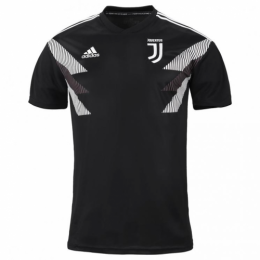 18-19 Juventus Black Training Jersey Shirt