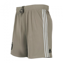 18-19 Juventus Away Gray Soccer Jersey Short