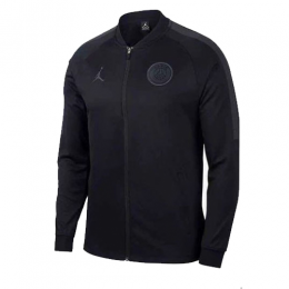 18-19 PSG JORDAN 3rd Away Black Training Jacket	,