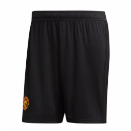 18-19 Manchester United Home Black Jersey Short